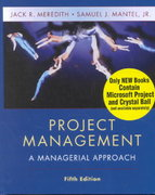 Project Management 5th edition 9780471073239 0471073237