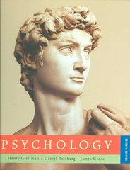 Psychology 7th Edition 9780393977684 0393977684