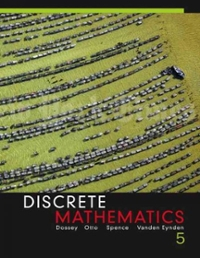 Discrete mathematics 5th edition textbook solutions chegg discrete mathematics 5th edition view more editions fandeluxe Image collections