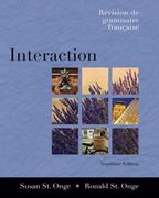 Interaction: Revision de grammaire française (with Audio CD) 7th Edition 9781413016475 1413016472