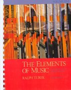 The Elements of Music: Concepts and Applications, Vol. I 2nd edition 9780070654747 0070654743