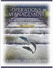 Operations Management 3rd edition 9780471794486 0471794481