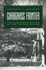 Crabgrass Frontier 1st Edition 9780199763146 0199763143