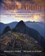 Human Antiquity 5th edition 9780073041964 0073041963