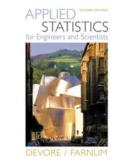 Applied Statistics for Engineers and Scientists (with CD-ROM) 2nd edition 9780534467197 0534467199