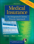 Medical Insurance: An Integrated Claims Process Approach with Student Data Template CD 3rd edition 9780073256450 0073256455