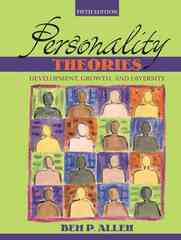 Personality Theories 5th edition 9780205439126 0205439128