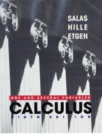 Calculus 9th Edition 9780471231202 0471231207