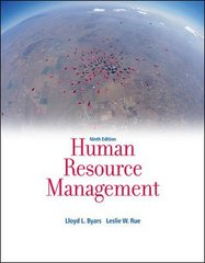 Human Resource Management 9th edition 9780073530253 0073530255