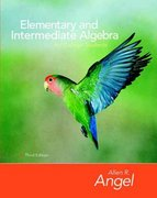 Elementary and Intermediate Algebra for College Students 3rd edition 9780132337229 0132337223