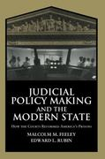 Judicial Policy Making and the Modern State 0 9780521593533 0521593530