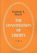 The Constitution of Liberty 0 9780226320847 0226320847