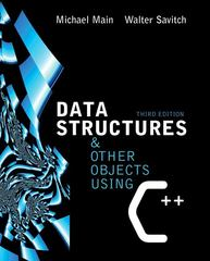 Data Structures and Other Objects Using C++ 3rd edition 9780321197160 032119716X