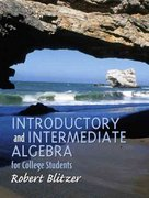Introductory and Intermediate Algebra for College Students 0 9780130328427 0130328421