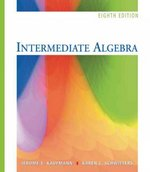 "Intermediate Algebra (with Interactive Video Skillbuilder CD-ROM and iLrnâ""¢ Student Tutorial Printed Access Card) 8th edition 9780495105527 049510552X"