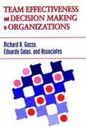 Team Effectiveness and Decision Making in Organizations 1st edition 9781555426415 1555426417