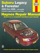 Subaru Legacy & Forester, 2000-2006 1st edition 9781563926198 1563926199