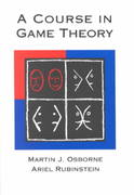A Course in Game Theory 1st Edition 9780262650403 0262650401