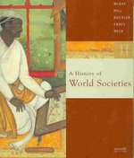 A History of World Societies 7th edition 9780618610952 0618610952