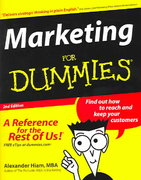Marketing For Dummies 2nd edition 9780764556005 0764556002