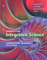 Laboratory Manual for Conceptual Integrated Science 1st edition 9780805390735 0805390731