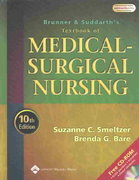 Brunner and Suddarth's Textbook of Medical-Surgical Nursing 10th edition 9780781731935 0781731933
