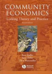 Community Economics 2nd Edition 9780813816371 0813816378