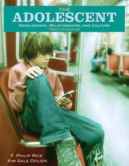 The Adolescent 12th Edition 9780205530748 0205530745