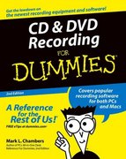CD and DVD Recording For Dummies 2nd edition 9780764559563 0764559567