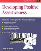 Developing Positive Assertiveness, Third Edition 3rd edition 9781560526001 1560526009