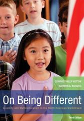 On Being Different: Diversity and Multiculturalism in the North American Mainstream 3rd Edition 9780073530895 0073530891