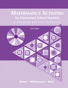 Mathematics Activities for Elementary School Teachers 6th Edition 9780321408983 0321408985