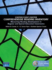 Comprehensive Reading Inventory 1st edition 9780131135604 0131135600
