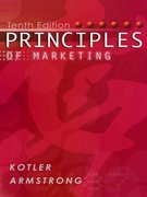 Principles of Marketing 10th edition 9780131018617 0131018612