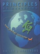 Principles of Marketing 9th edition 9780130404404 0130404403