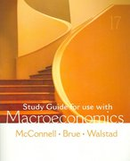 Study Guide to accompany MacroEconomics 17th edition 9780073273204 0073273201