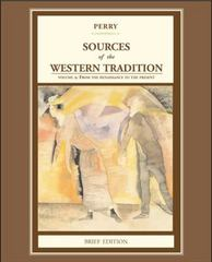 Sources of the Western Tradition, Brief Edition 1st edition 9780618539031 0618539034