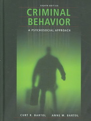 Criminal Behavior 8th Edition 9780132394215 0132394219