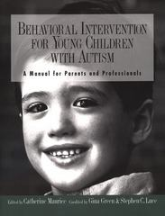 Behavioral Intervention for Young Children with Autism 1st Edition 9780890796832 0890796831