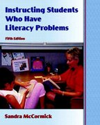 Instructing Students Who Have Literacy Problems 5th edition 9780131718791 0131718797