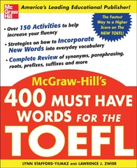 400 Must-Have Words for the TOEFL 1st edition 9780071443289 0071443282