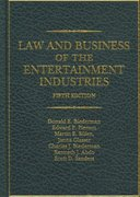 Law and Business of the Entertainment Industries 5th Edition 9780275992057 0275992055