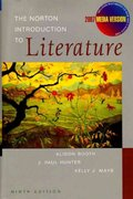 The Norton Introduction to Literature 9th edition 9780393108880 0393108880