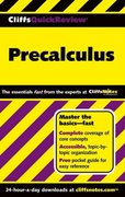 CliffsQuickReview Precalculus 1st edition 9780764539848 0764539841