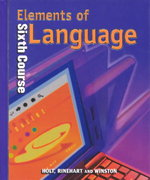 Elements of Language 0 9780030526695 0030526698