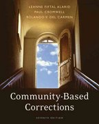 Community-Based Corrections 7th edition 9780495094821 049509482X