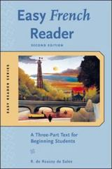 Easy French Reader, Second Edition 2nd Edition 9780071428484 0071428488