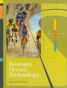 Business Driven Technology 1st edition 9780072983012 0072983019