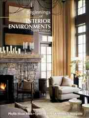 Beginnings of Interior Environments 9th edition 9780130457707 0130457701