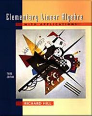 Elementary Linear Algebra with Applications 3rd edition 9780030103476 0030103479